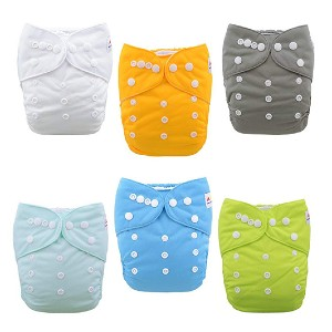 ALVABABY Baby Cloth Diapers - Best Cloth Diaper for Newborn: Super affordable