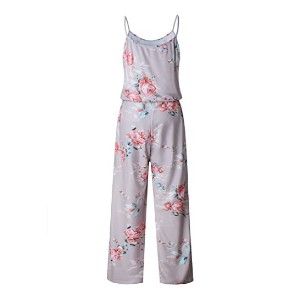 AMiERY Women's Floral Printed Jumpsuits - Best Jumpsuits on Amazon: Best for shorties
