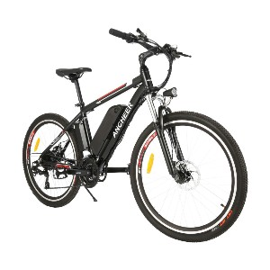 ANCHEER 250W/500W Ebike 26'' Electric Bicycle - Best Electric Bike for Delivery: Heavy-duty pick