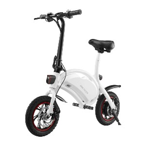 ANCHEER an-EB5 Plus Folding Electric Bike - Best Electric Bike with Throttle: Great for short trip
