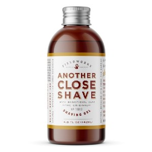 Fieldworks ANOTHER CLOSE SHAVE GEL - Best Shaving Gel for Barbers: Smell Like the Great Outdoors