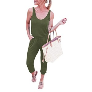 ANRABESS Women's Summer Tank Jumpsuit  - Best Jumpsuits on Amazon: Low price, high quality