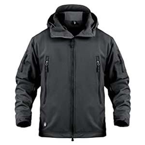 ANTARTICA Military Tactical Jacket - Best Raincoats for Men: Keeps you dry and warm