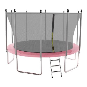 AOTOB 15FT Trampoline for Kids with Safety Enclosure Net - Best Trampoline for Kids and Adults: Best design