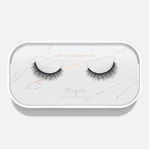 Esqido APPLE & CINNAMON - Best Lashes for Monolids: Easy to Apply with A Soft Cotton Band