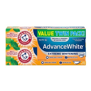 ARM & HAMMER Advanced White Extreme Whitening  - Best Toothpaste Recommended by Dentist: Affordable teeth whitening