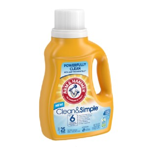 ARM & HAMMER Clean & Simple - Best Baby Laundry Detergents: Free from Unnecessary Chemicals