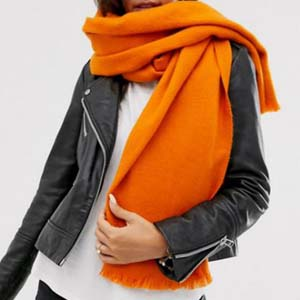 ASOS Supersoft long woven scarf - Best Scarves for Winter: Brighten your day
