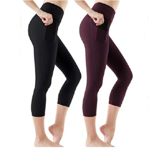 ATHLIO High Waist Yoga Pants with Pockets - Best Leggings with Tummy Control: Combine Fashion, Function and Athletic Performance