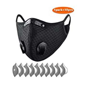 ATTICA Dust Face Mask With Filter, Washable and Reusable Sports Mask - Best Masks for COVID: Look more manly with this mask