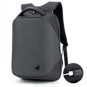 AU Select Business Travel - Best Backpack for Travel: Backpack with portable charging