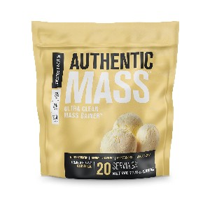Jacked Factory Authentic Mass - Best Mass Gainer Protein: Contains No Added Sugars
