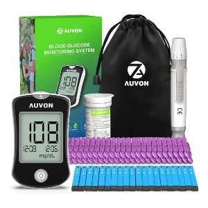 AUVON DS-W Blood Sugar Kit  - Best Glucometer on the Market: For busy lifestyle