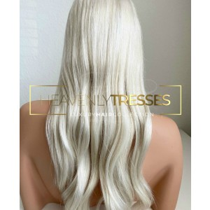 Heavenly Tresses AVA - Best Human Hair Wigs for Caucasian: New HD Hi-Definition Lace