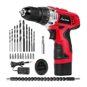 Avid Power 12V Cordless Drill - Best Drill for Home Use: Two Variable Speed Cordless Drill
