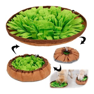 AWOOF Pet Snuffle Mat for Dogs - Best Dog Toys for Boredom: Unique Dog Training Mat