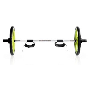 Axle Versatile Olympic Barbell - Best Barbell for Home Gym: It is collapsible!