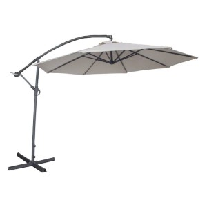 Abba Patio 10-Feet Offset Cantilever Umbrella  - Best Offset Patio Umbrellas: Lasts up to 1000 hours