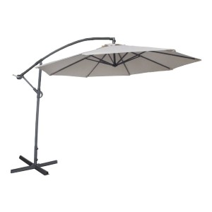 Abba Patio 10-Feet Offset Cantilever Umbrella  - Best Patio Umbrellas for Wind: Lasts up to 1000 hours