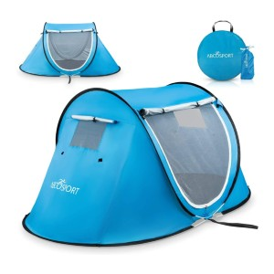 Abco Automatic Instant Tent - Best Easy Set Up Tents: Great Two Mesh Windows