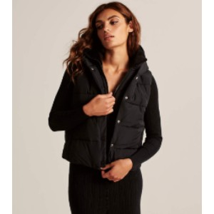 Abercrombie & Fitch Puffer Vest - Best Down Vests for Women: Casual Style Vest