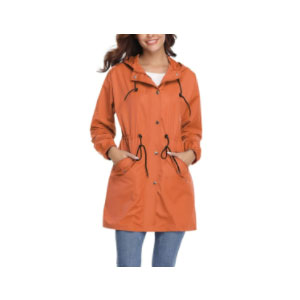 Abollria Hooded Rain Jacket - Best Raincoats Under $100: Nice Design and Stylish Touch
