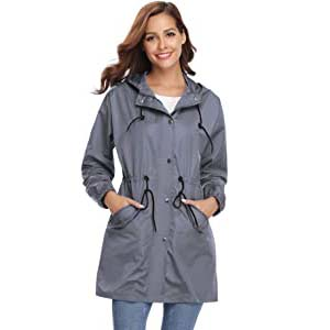 Abollria Women Outdoor Raincoat - Best Raincoats Amsterdam: Trendy design which fits all outfits