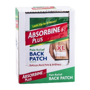 Absorbine Jr Pain Relief Back Patch - Best Patches for Back Pain: Trusted for Generations