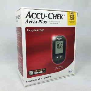AccuChek Aviva Plus Meter - Best Blood Glucose Meters: Best for less painful process
