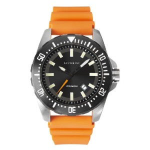 Accurist Accurist 7306 - Best Waterproof Watches: Shockproof Strap and Luminous Hands