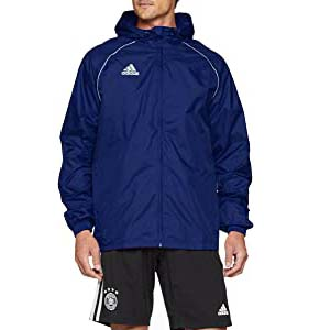 ADIDAS Men's Core18 Rain Jacket - Best Raincoats for Summer: Protects you and your belongings dry