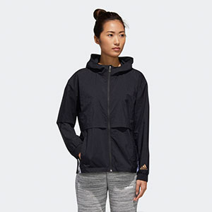 ADIDAS U4U WINDBREAKER - Best Jacket for Wind: Windbreaker jacket with roomy fit layers