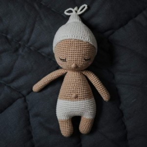 Happy Little People Adopt-a-Doll: Sleeping Baby Handmade Doll - Best Educational Toys for Kindergartners: Comes with adoption certificate