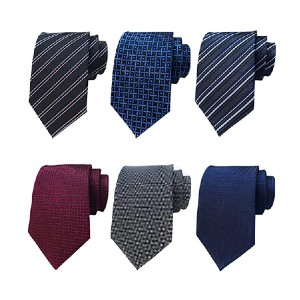 Adulove Classic Silk Tie - Best Ties for Lawyers: You'll get six!