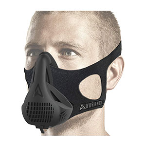 Aduro Sport 4 Breathing Oxygen High Altitude  - Best Masks for Working Out: Comfortable High Altitude Mask