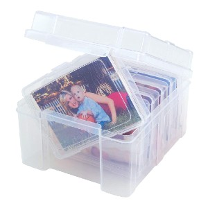 Advantus Photo Keeper Box - Best Photo Storage Boxes with Dividers: Best for budget