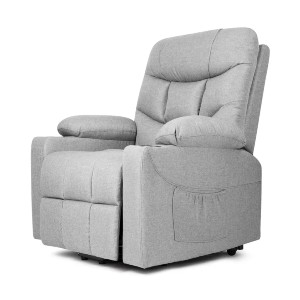 Latitude Run® Aedyn  - Best Recliners for Heavy Person: 8-Point Massage Function