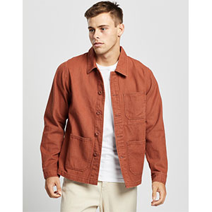 Aere Organic Twill Chore Jacket - Best Jacket for Summer: Casual look jacket