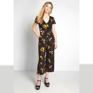 ModCloth Aiming Higher Cropped Jumpsuit - Best Loungewear for Petites: Highly fashionable.