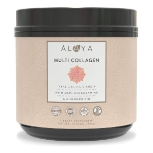 Alaya Multi Collagen Powder - Best Collagen Powder for Joints: Look Good and Feel Good