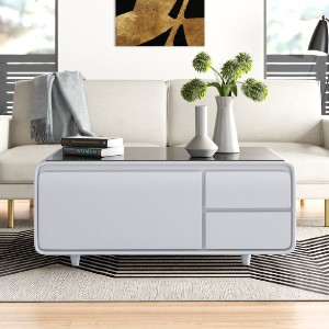 All Modern Smart Coffee Table with Storage - Best Coffee Table with Storage: Smart Coffee Table with Refrigerator