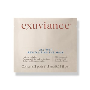 exuviance All-Out Revitalizing Eye Mask - Best Wrinkle Patches: Individual Antiaging Eye Mask Treatments
