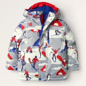 Boden All-Weather Waterproof Jacket  - Best Coats for Toddlers: Detachable Hood