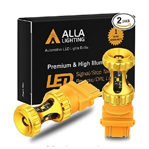 Alla Lighting 3156 3157 LED Bulbs - Best LED Turn Signal Lights for Cars: High illumination and high power