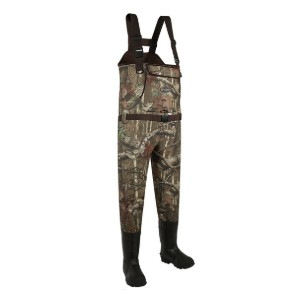Allen Big Timber Bootfoot Neoprene Chest Waders - Best Chest Waders for Duck Hunting: No water get into the wader