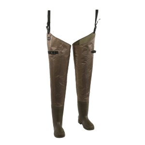 Allen Black River Bootfoot Hip Waders  - Best Waders for Surf Fishing: Keep you warm