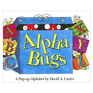 David A. Carter Alpha Bugs: A Pop-up Alphabet - Best Pop-Up Books for Toddlers: Learn alphabet with fun