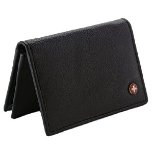 Alpine Swiss Genuine Leather Minimalist Wallet  - Best Minimalist Wallet for Men: Replace your bulky wallet with this