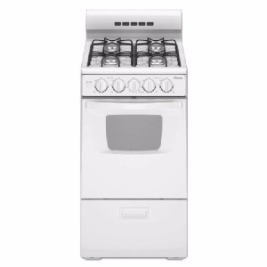 Amana 20 in. 2.6 cu. ft. Gas Range  - Best Gas Ranges for the Money: Best for small space