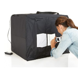 Amazon Basics Portable Foldable Photo Studio Box - Best Lightbox for Product Photography: Best for indoors and outdoors